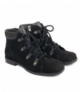 Ботинки женские черные, Фабрика обуви Меркурий, г. Санкт-Петербург