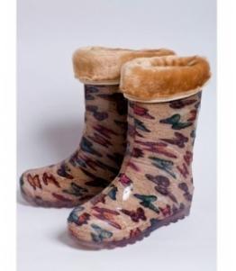 Сапоги школьные из ПВХ утепленные, фабрика обуви Каури, каталог обуви Каури,Тверь