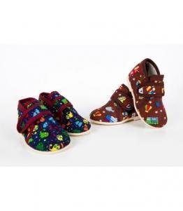 Детские домашние тапочки (гусариковые), фабрика обуви ЗАРЯ, каталог обуви ЗАРЯ,Луга
