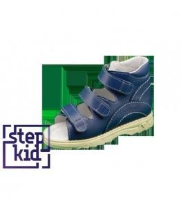 Детские сандалии синие STEPKID, фабрика обуви STEPKID, каталог обуви STEPKID,Ростов на Дону