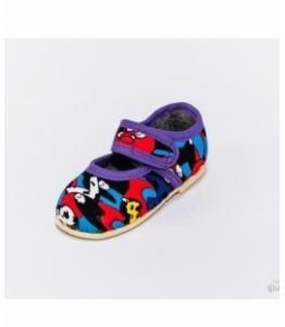 Тапочки детские на липучке, мод 107л-летние оптом, Фабрика обуви Башмачок, г. Чебоксары