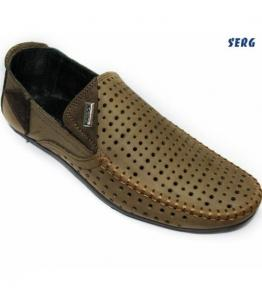 Мокасины мужские, фабрика обуви Serg, каталог обуви Serg,Махачкала