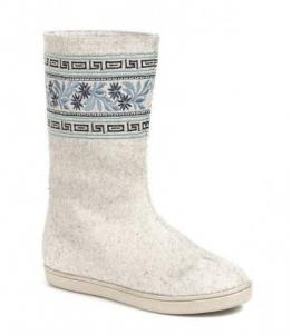 Валенки женские с апликацией, Фабрика обуви Shelly, г. Москва