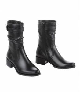 Ботинки на среднем каблуке, фабрика обуви Sateg, каталог обуви Sateg,Санкт-Петербург