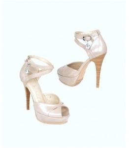 Туфли светлые женские Сатег на платформе оптом, обувь оптом, каталог обуви, производитель обуви, Фабрика обуви Sateg, г. Санкт-Петербург