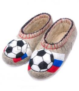 Валяные тапочки с рисунком мужские, фабрика обуви SLAVENKI, каталог обуви SLAVENKI,село Ухманы