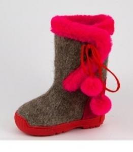 Валенки детские Бомбошка оптом, обувь оптом, каталог обуви, производитель обуви, Фабрика обуви Ярославская фабрика валяной обуви, г. Ярославль