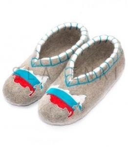 Войлочные тапочки с вышивкой, фабрика обуви SLAVENKI, каталог обуви SLAVENKI,село Ухманы