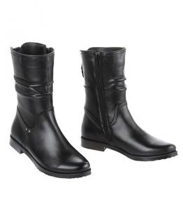 Ботинки демисезонные на низком каблуке, Фабрика обуви Sateg, г. Санкт-Петербург