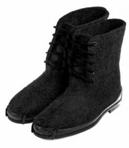 Ботинки войлочные мужские, Фабрика обуви Выльгортская сапоговаляльная фабрика, г. с. Выльгорт