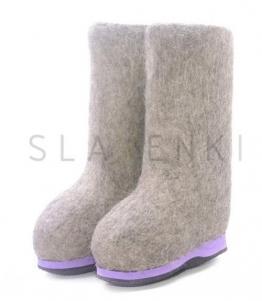 Детские валенки с цветной подошвой, фабрика обуви SLAVENKI, каталог обуви SLAVENKI,село Ухманы