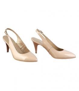 Бежевые летние туфли на шпильке оптом, обувь оптом, каталог обуви, производитель обуви, Фабрика обуви Sateg, г. Санкт-Петербург