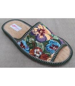 Домашние тапки с берестяной стелькой Рапана оптом, обувь оптом, каталог обуви, производитель обуви, Фабрика обуви Рапана, г. Москва
