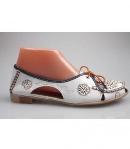 Мокасины женские на полную ногу, Фабрика обуви Askalini, г. Москва