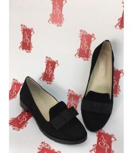 Женские балетки черные AST, фабрика обуви AST, каталог обуви AST,Евпатория