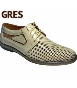 Полуботинки мужские с перфорацией, Фабрика обуви Gres, г. Махачкала