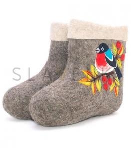 Короткие валенки, полуваленки, Фабрика обуви SLAVENKI, г. Чебоксары