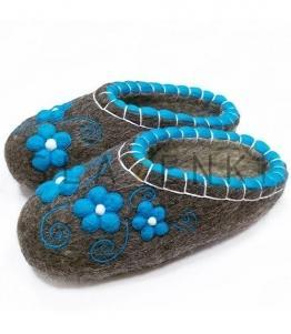 Валяные тапочки без задника, Фабрика обуви SLAVENKI, г. Чебоксары