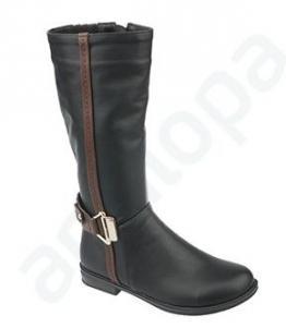 Сапоги школьные для девочек оптом, обувь оптом, каталог обуви, производитель обуви, Фабрика обуви Антилопа, г. Коломна