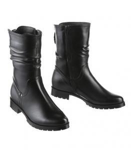Ботинки зимние на низком каблуке, фабрика обуви Sateg, каталог обуви Sateg,Санкт-Петербург