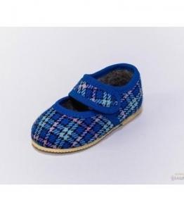 Тапочки детские на липучке,  мод. 107, фабрика обуви Башмачок, каталог обуви Башмачок,Чебоксары