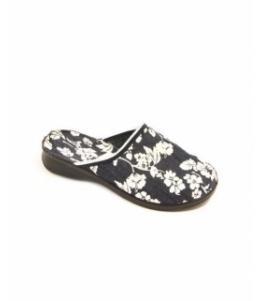Тапочки женские ДЖИНС  оптом, обувь оптом, каталог обуви, производитель обуви, Фабрика обуви IN-STEP, г. д. Васильево