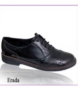 Полуботинки женские Erada-L черн-коричн оптом, обувь оптом, каталог обуви, производитель обуви, Фабрика обуви TOTOlini, г. Балашов