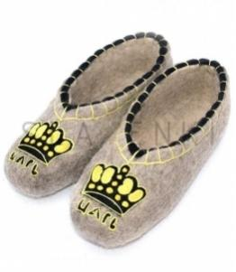 Валяные тапочки с рисунком, Фабрика обуви SLAVENKI, г. Чебоксары