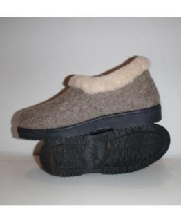 Полуботинки суконные Бабуши &quotЭКО-Шерсть&quot оптом, обувь оптом, каталог обуви, производитель обуви, Фабрика обуви Уют-Эко, г. Пушкино