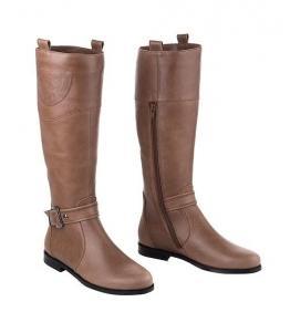 Сапоги демисезонные коричневые, Фабрика обуви Sateg, г. Санкт-Петербург