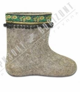 Валенки декоративные, Фабрика обуви Горизонт, г. Москва