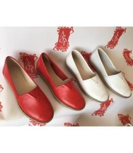 Женские балетки красные AST, фабрика обуви AST, каталог обуви AST,Евпатория