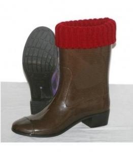 Сапоги ПВХ женские цветные с манжетой оптом, обувь оптом, каталог обуви, производитель обуви, Фабрика обуви Кристалл-ПЛЮС , г. Крымск