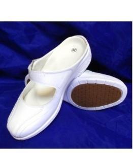 Шлепанцы ЭВА женские белые оптом, обувь оптом, каталог обуви, производитель обуви, Фабрика обуви Центр Профессиональной Обуви, г. Москва