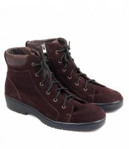 Ботинки женские коричневые, Фабрика обуви Меркурий, г. Санкт-Петербург