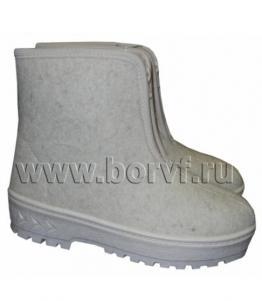Ботинки войлочные женские, Фабрика обуви Борская войлочная фабрика, г. Бор