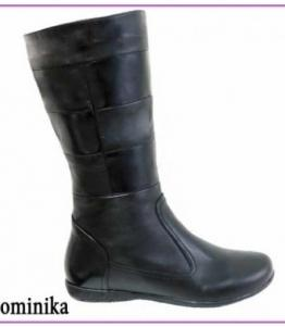 Сапоги женские Dominika оптом, обувь оптом, каталог обуви, производитель обуви, Фабрика обуви TOTOlini, г. Балашов