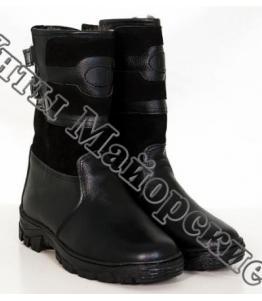 Мужские монголки короткие черные оптом, обувь оптом, каталог обуви, производитель обуви, Фабрика обуви Унты Майорские, г. с. Поселки