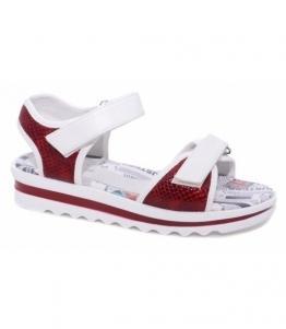 Туфли открытые для школьников-девочек, фабрика обуви Milton, каталог обуви Milton,Чехов