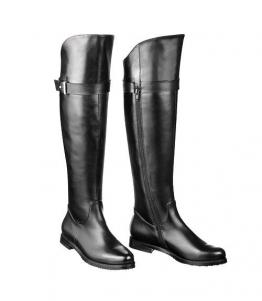 Ботфорты на низком каблуке оптом, обувь оптом, каталог обуви, производитель обуви, Фабрика обуви Sateg, г. Санкт-Петербург