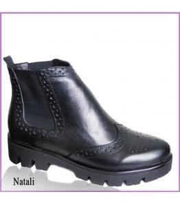 Черные ботинки, фабрика обуви TOTOlini, каталог обуви TOTOlini,Балашов