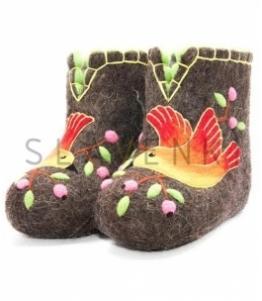 Валяные чуни женские оптом, обувь оптом, каталог обуви, производитель обуви, Фабрика обуви SLAVENKI, г. Чебоксары