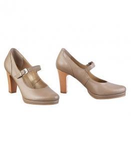 Бежевые туфли с ремешком на подъеме оптом, обувь оптом, каталог обуви, производитель обуви, Фабрика обуви Sateg, г. Санкт-Петербург