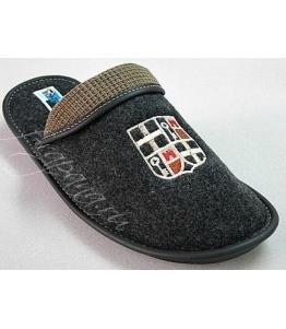 Тапочки мужские с отворотом Рапана оптом, обувь оптом, каталог обуви, производитель обуви, Фабрика обуви Рапана, г. Москва