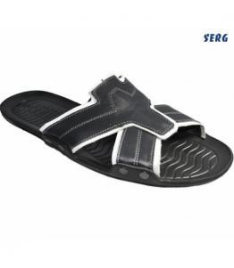 Шлепанцы мужские, фабрика обуви Serg, каталог обуви Serg,Махачкала