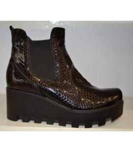 Ботинки женские байка лак bevany оптом, обувь оптом, каталог обуви, производитель обуви, Фабрика обуви Беванишуз, г. Москва