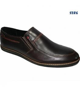 Полуботинки мужские, фабрика обуви Serg, каталог обуви Serg,Махачкала