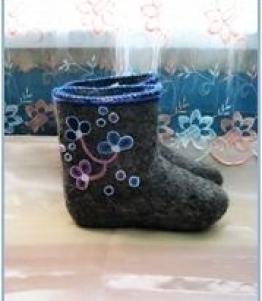 Валенки женские, Фабрика обуви Бачмага, г. Челябинск
