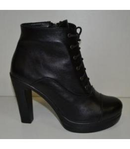 Ботильоны женские черные bevany, фабрика обуви Беванишуз, каталог обуви Беванишуз,Москва