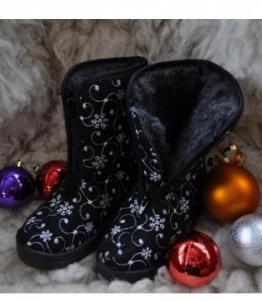 Сапоги детские суконные Снежинка, Фабрика обуви Мастер центр, г. Ковардицы